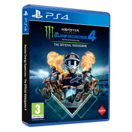 Monster Energy Supercross 4: The Official Videogame PS4