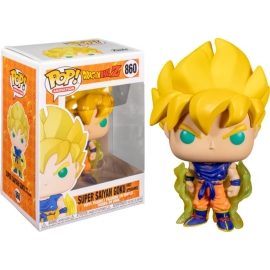 POP! Vinyl Animation: Dragon Ball Super - Super Saiyan Goku First Appearance 860