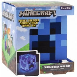 Candeeiro Minecraft: Charged Creeper