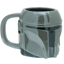 Caneca Star Wars: The Mandalorian - 3D Helmet