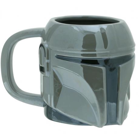 Caneca Star Wars: The Mandalorian - 3D Helmet