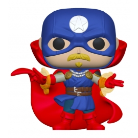 POP! Marvel: Infinity Warps - Soldier Supreme