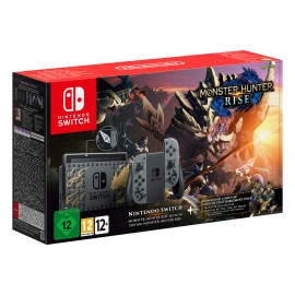 Consola Nintendo Switch Monster Hunter Rise Edition