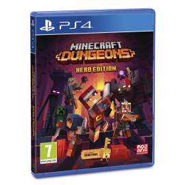 Minecraft Dungeons (Seminovo) PS4