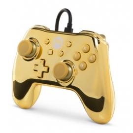 Comando PowerA Nintendo Switch Wired - Mario Chrome Gold