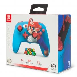 Comando PowerA Nintendo Switch Enhanced Wired - Mario Punch