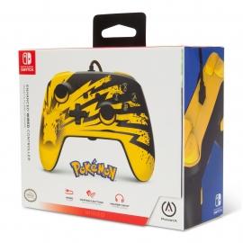 Comando PowerA Nintendo Switch Enhanced Wired - Pikachu Lightning