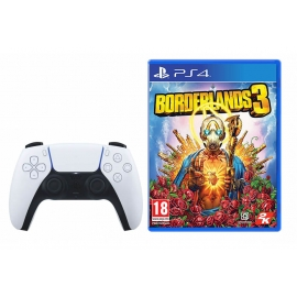 Pack Joga a 2 Borderlands 3 PS4 (Upgrade PS5) + Comando sem fios DualSense Playstation 5