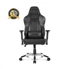 Cadeira Akracing Office Obsidian - Preta Carbono
