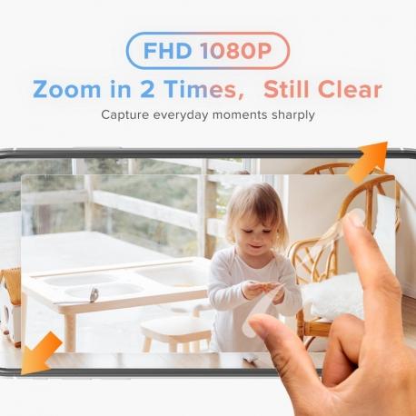 Laxihub - Câmara indoor Pan Tilt Zoom P1