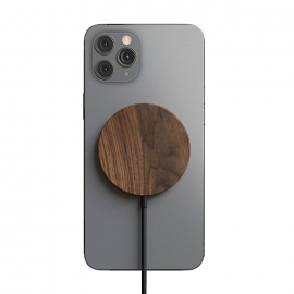 Woodcessories - MagPad Wooden MagSafe Qi charger
