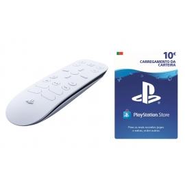 Comando para conteúdo multimédia Playstation 5 - Oferta Cartão PSN 10€