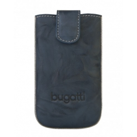bugatti - SlimCase Leather Unique iPhone 5/5s/SE (jeans)