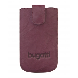 bugatti - SlimCase Leather Unique iPhone 5/5s/SE (burgundy)