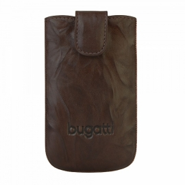 bugatti - SlimCase Leather Unique iPhone 5/5s/SE (tobacco)