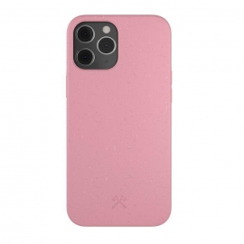 Woodcessories - Bio iPhone 12/12 Pro (coral pink)