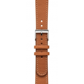 Withings - Pulseira cabedal 18mm (brown/steel)