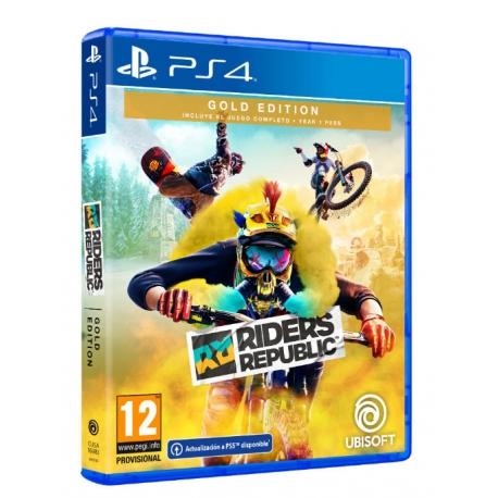 Riders Republic - Gold Edition PS4 - Oferta DLC