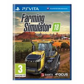 Farming Simulator 18 (Seminovo) PSVita