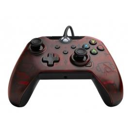 Comando PDP Gaming Com Cabo Xbox Series S | X - Transparent Red