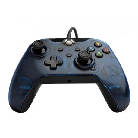 Comando PDP Gaming Com Cabo Xbox Series S   X - Transparent Blue