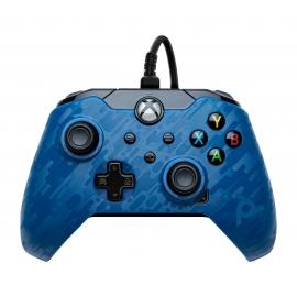 Comando PDP Gaming Com Cabo Xbox Series S | X - Blue Camo