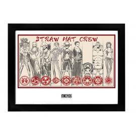 Poster One Piece - Straw Hat Crew