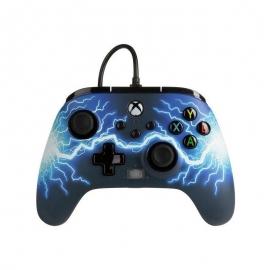 Comando PowerA Xbox Series X Enhanced Wired - Arc Lightning