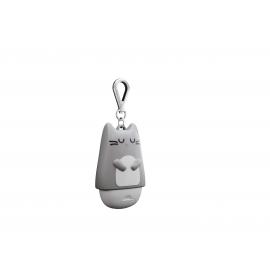 Mojipower - Frasco para líquido desinfectante Kitty