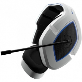 Headset Gioteck TX-50 PS5 - Branco e Azul