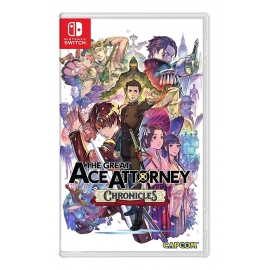 The Great Ace Attorney Chronicles Switch