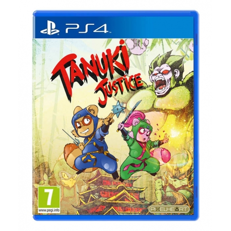 Tanuki Justice PS4
