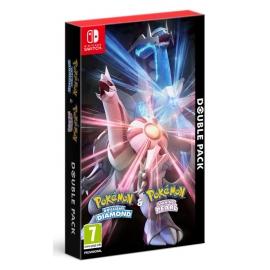Pokémon Brilliant Diamond & Shining Pearl - Double Pack Switch - Oferta Poster + DLC