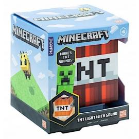 Candeeiro Minecraft - TNT Light With Sound