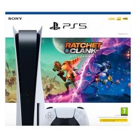 Consola Playstation 5 + Ratchet & Clank - Uma Dimensão à Parte (PS5) (Ver Notas no descritivo do produto)