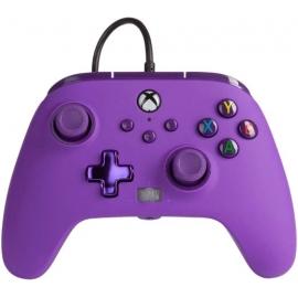 Comando PowerA Xbox Series X Enhanced Wired - Royal Purple