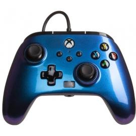 Comando PowerA Xbox Series X Enhanced Wired - Midnight Blue