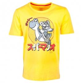 T-shirt Nintendo - Super Mario Yoshi - Tamanho S