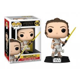 POP! Bobble-Head: Star Wars: Rey (Yellow Lightsaber) 432