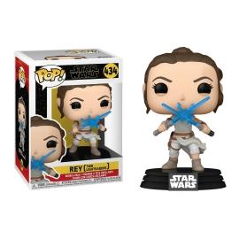 POP! Bobble-Head: Star Wars: Rey (Two Lightsabers) 434