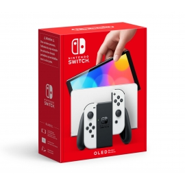 Consola Nintendo Switch Branca (Modelo OLED)