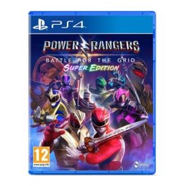 Power Rangers: Battle for the Grid - Super Edition PS4