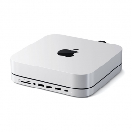 Satechi - Stand & Hub for Mac Mini with SSD Enclosure (sv)