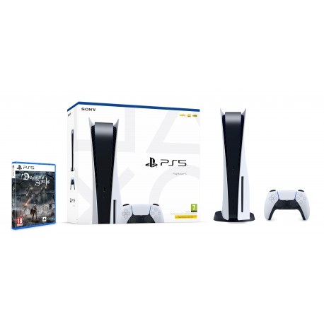 Pack Consola Playstation 5 + Demon's Souls (Ver Notas no descritivo do produto)