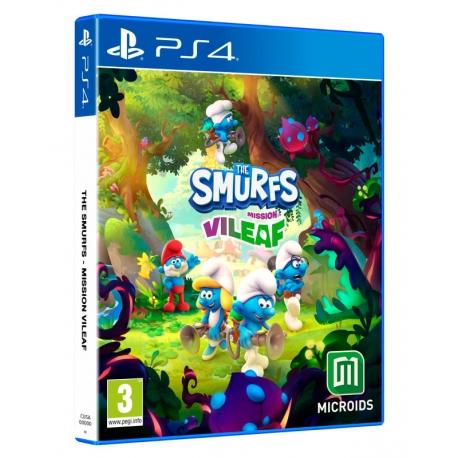 The Smurfs: Mission Vileaf - Smurftastic Edition PS4