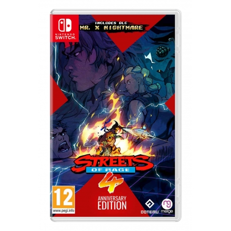 Streets of Rage 4 - Anniversary Edition Switch