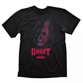 T-Shirt Call of Duty Warzone - Ghost Black