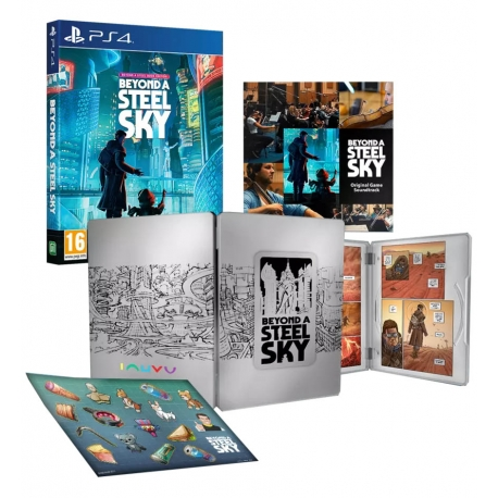 Beyond a Steel Sky - Book Edition PS4