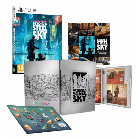 Beyond a Steel Sky - Book Edition PS5
