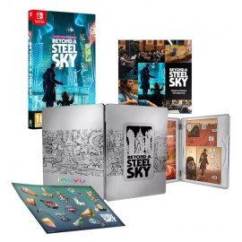 Beyond a Steel Sky - Book Edition Switch